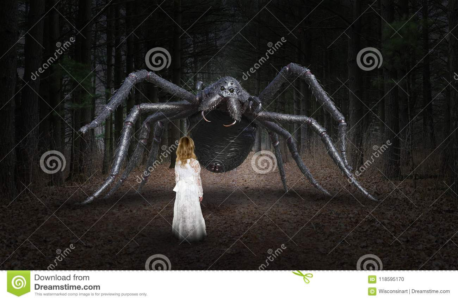 Surreal Spin, Jong Meisje, Monster