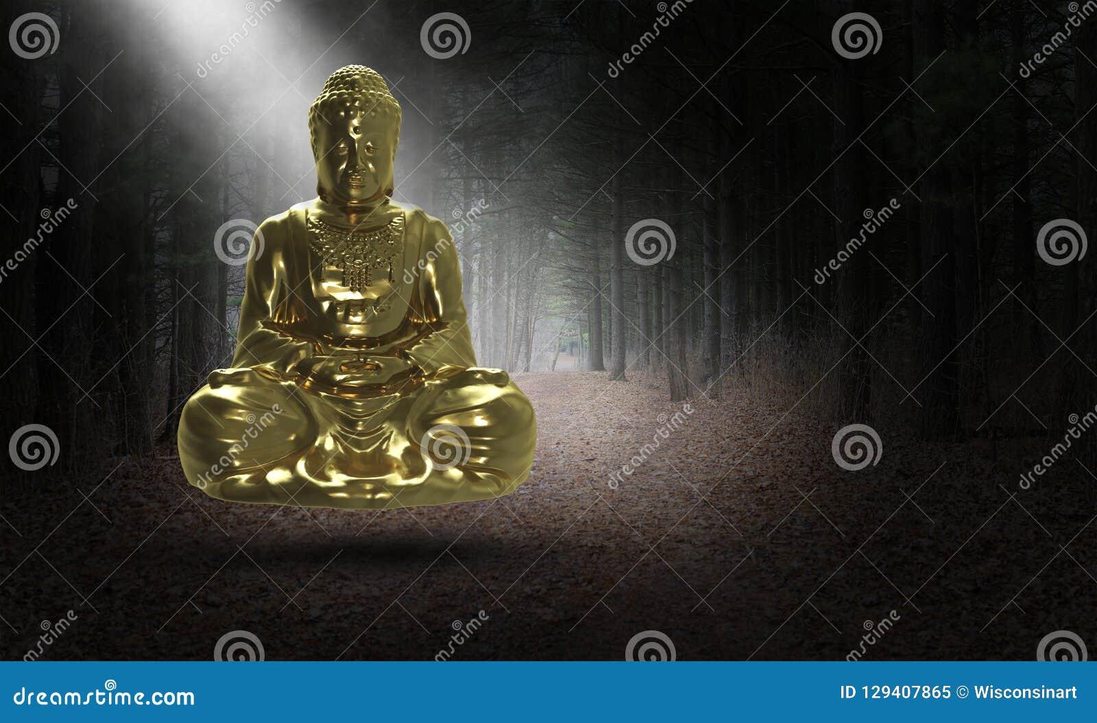 Surrealer Buddha, Buddist, Buddhismus, Statue, Religion