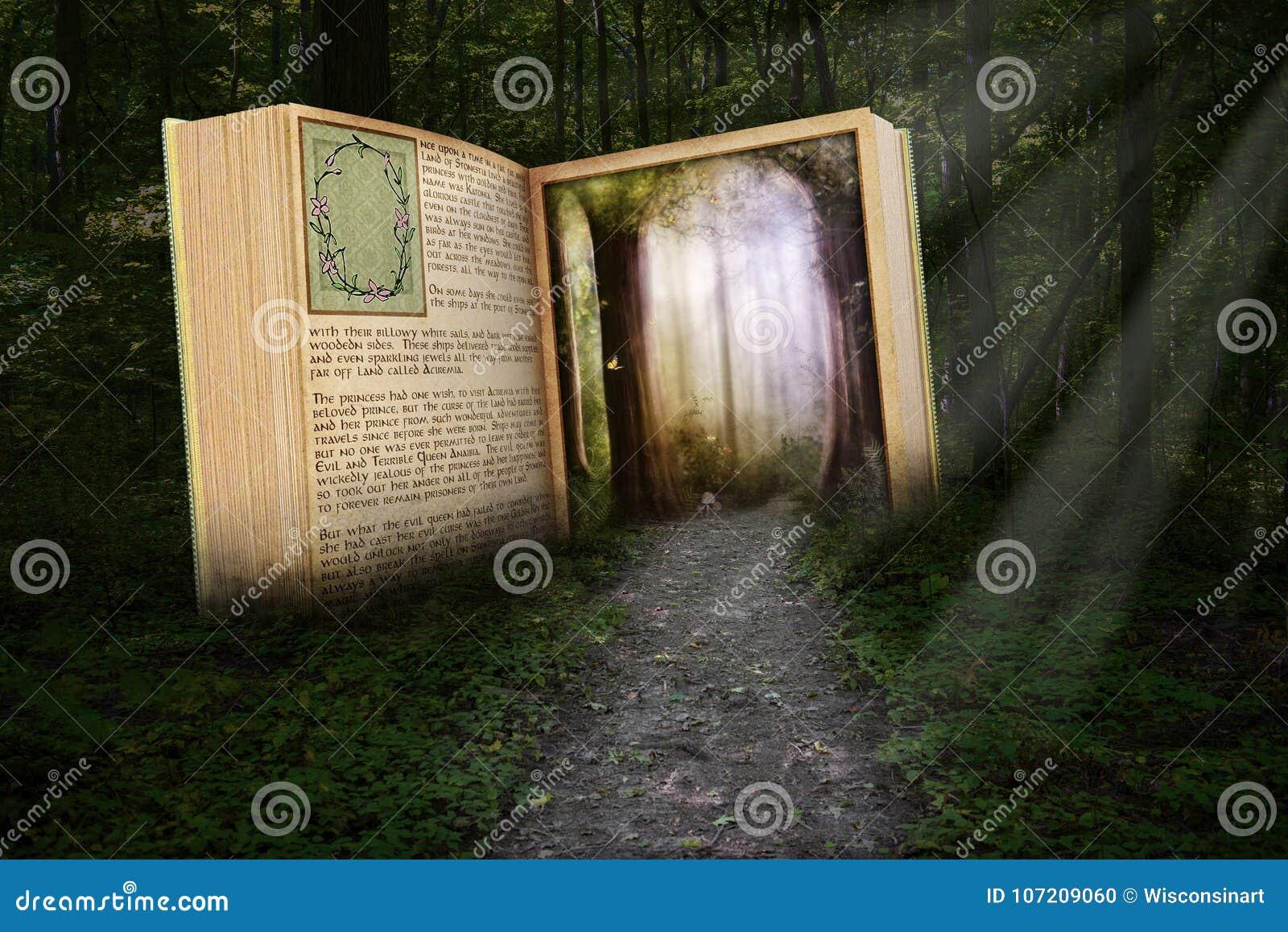 Surrealistyczna Czytelnicza książka, Czyta opowieść