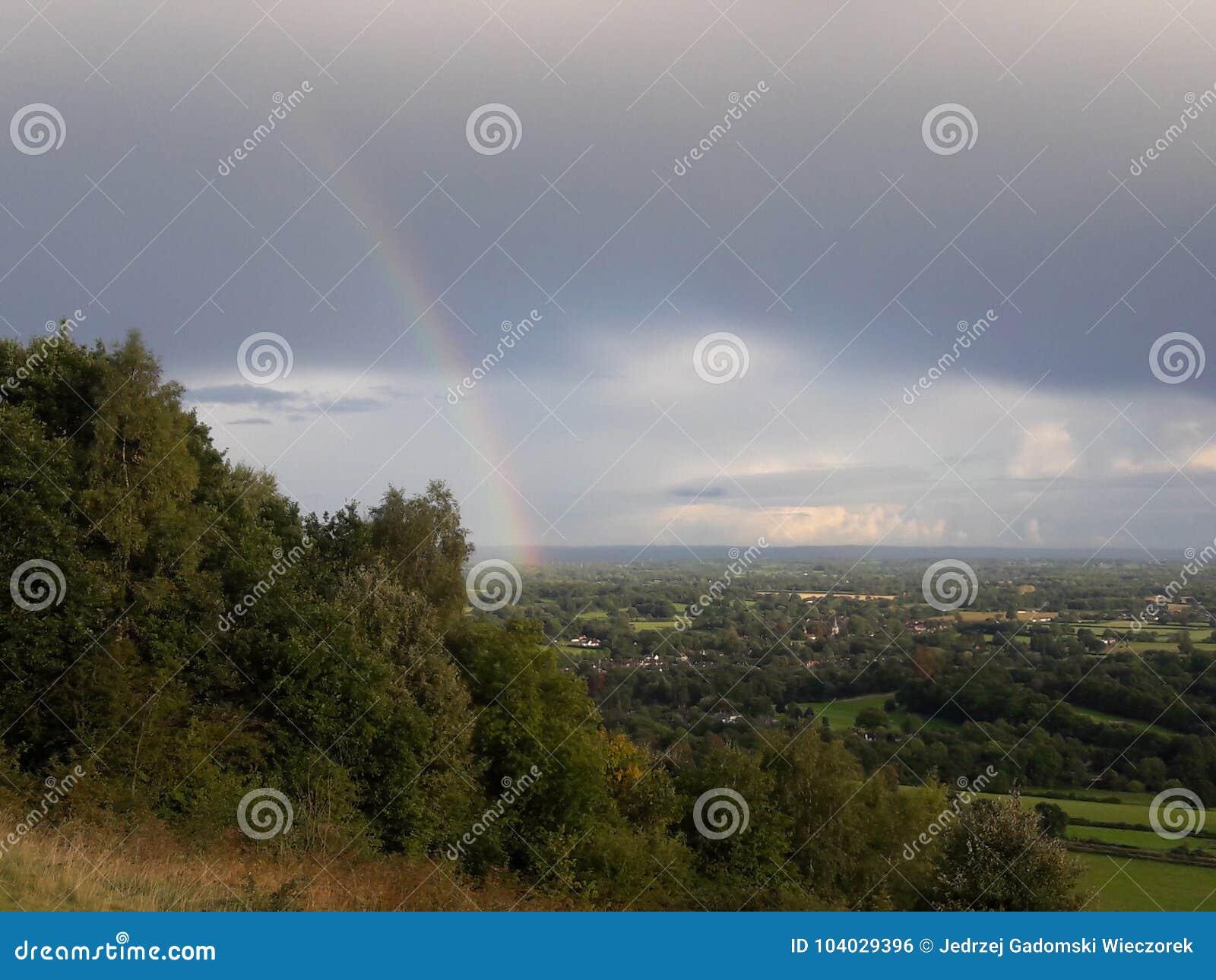 Surrey-Hügel-Bereich der hervorragenden Schönheit