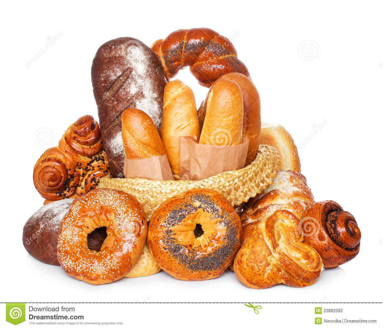 Baño Blanco Para Pan Dulce:Stock Images of Fresh Baked Bread