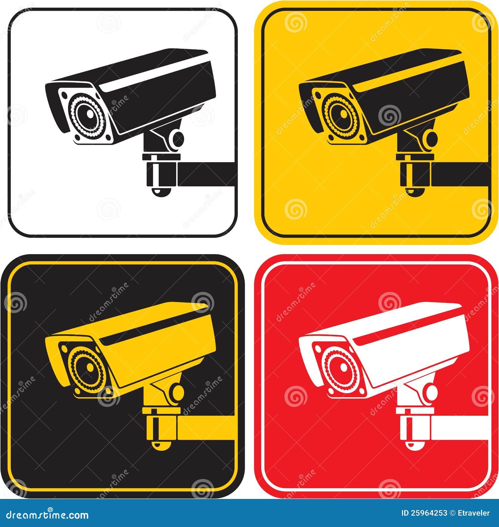 Surveillance camera stock vector image of safety - Camaras de vijilancia ...