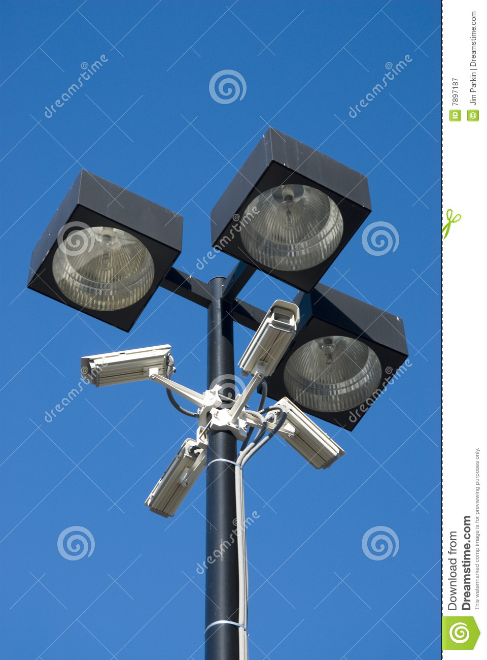 Download Surveillance cameras stock image. Image of watching, observe - 7897187
