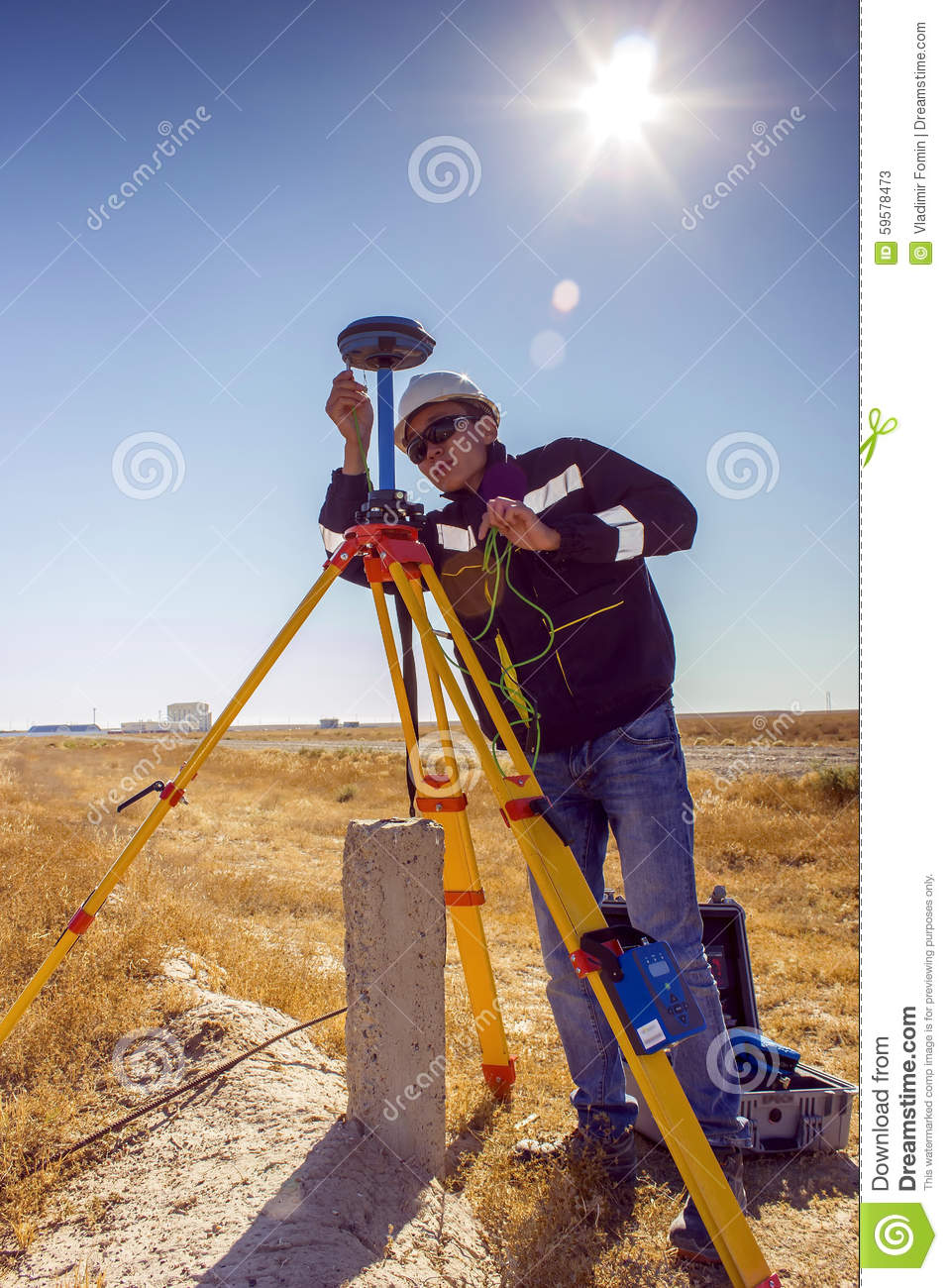 Surveyor stock image  Image of southern, determine, doing - 59578473