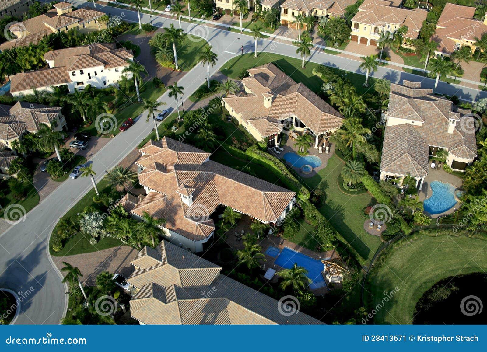 Survol de voisinage de la Floride
