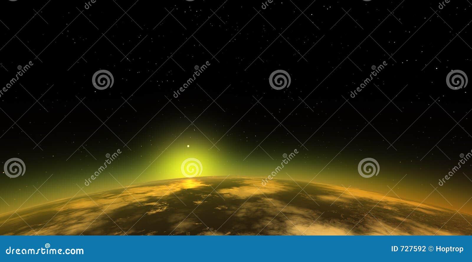 Suset dans l espace