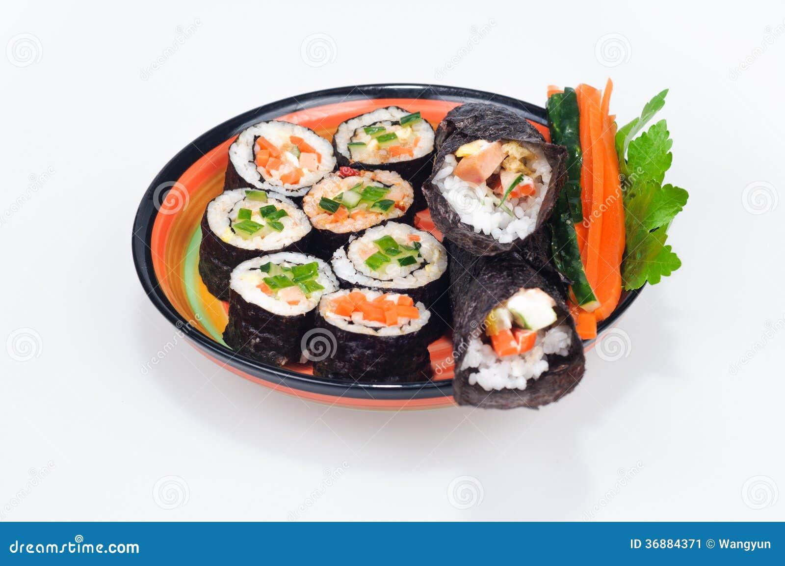 Download Sushi immagine stock. Immagine di sushi, giapponese, guarnisca - 36884371