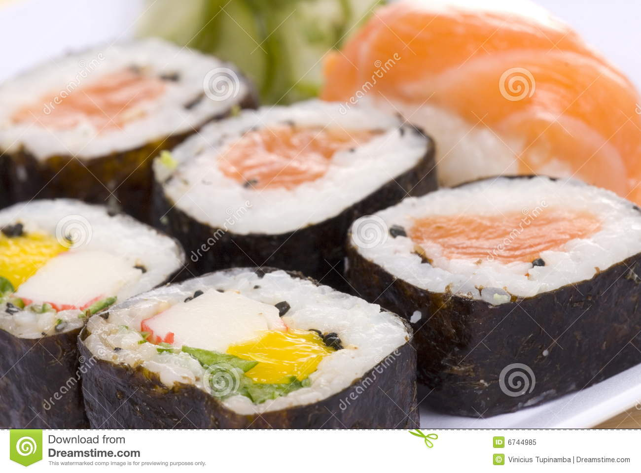 Sushi royalty free stock photo image 6744985 for Abis japanese traditional cuisine