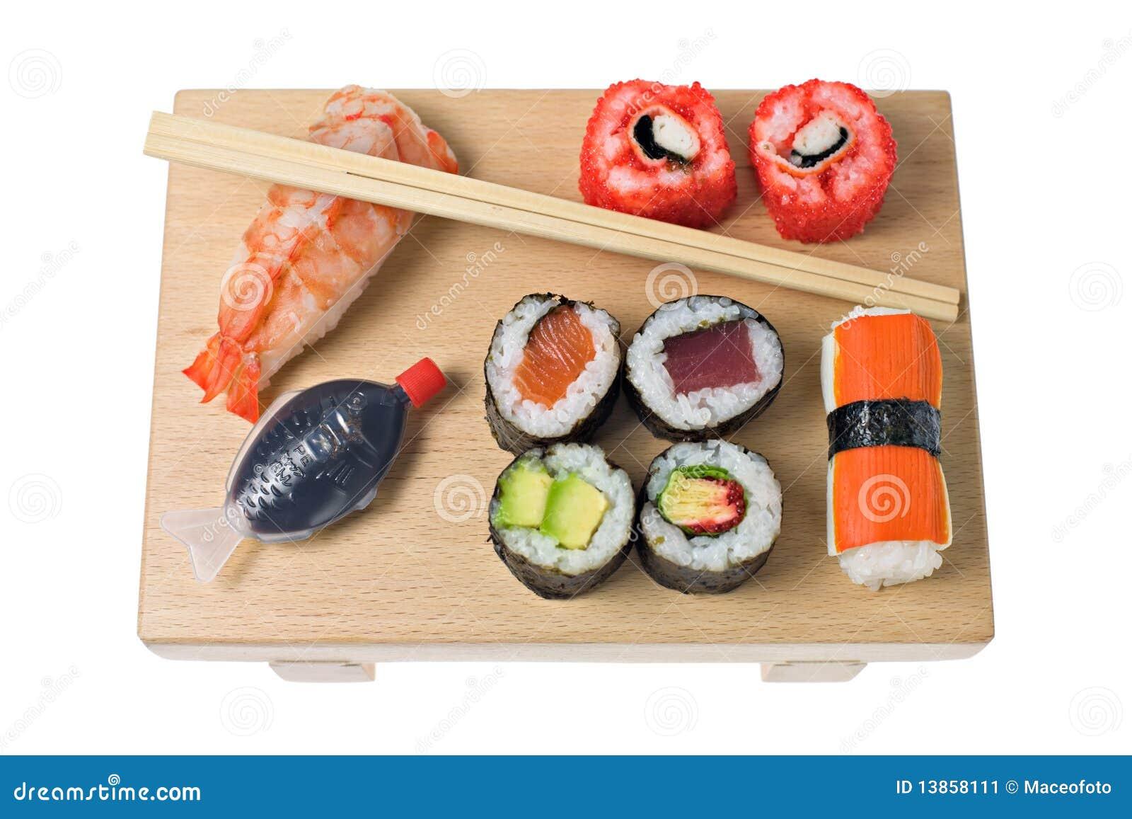 sushi arten stockbild bild 13858111. Black Bedroom Furniture Sets. Home Design Ideas