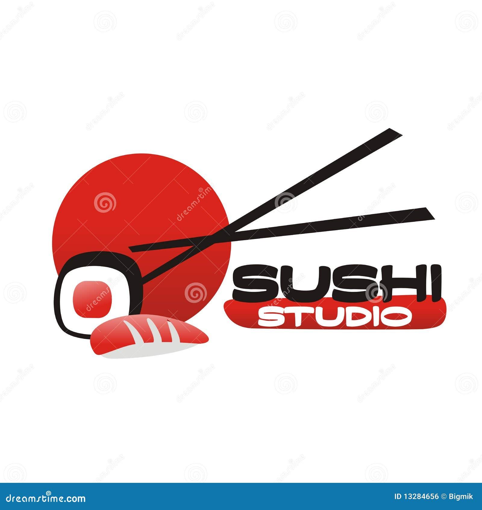 Sushi Bar Logo Stock Vector Image Of Restran Sushi