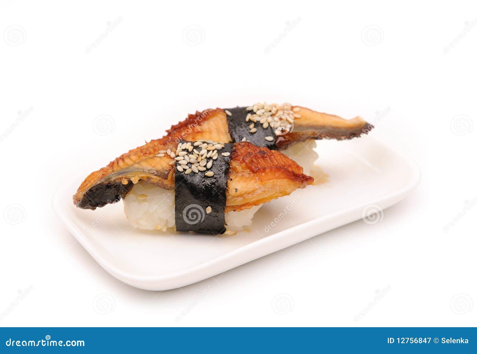 Sushi con l anguilla