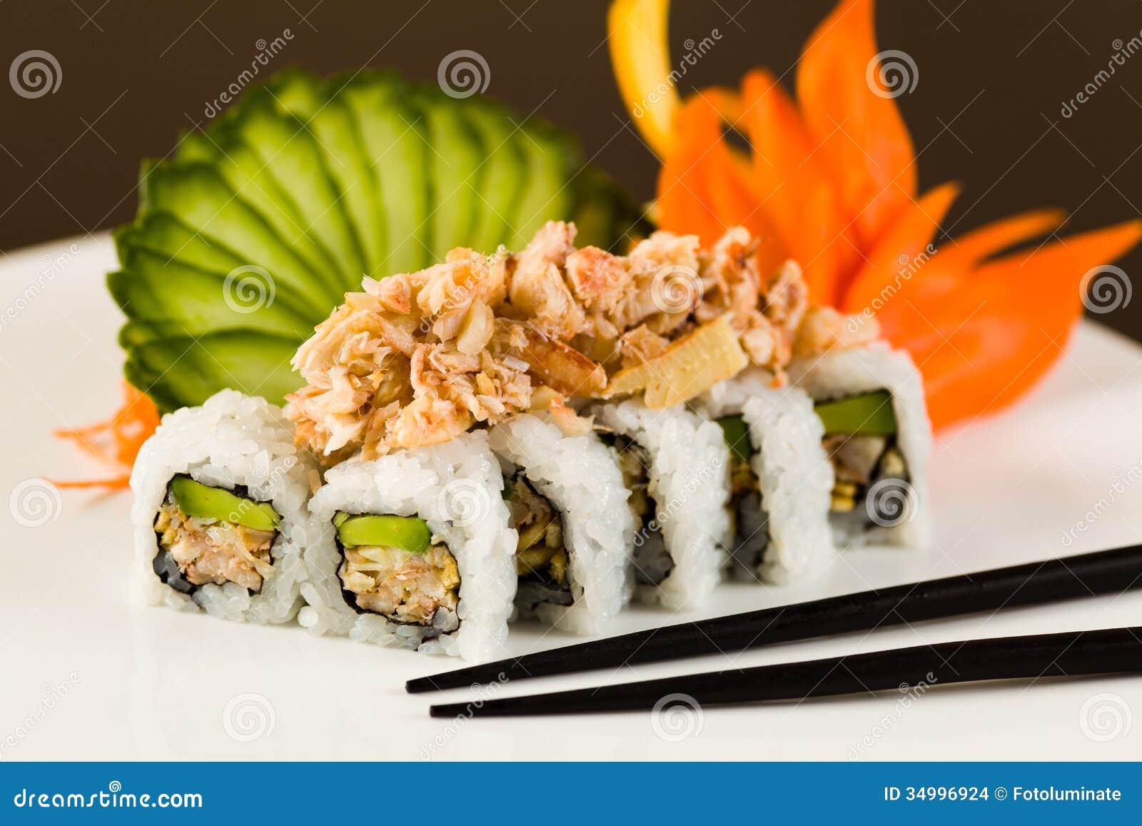 Raw Food Diet Sushi