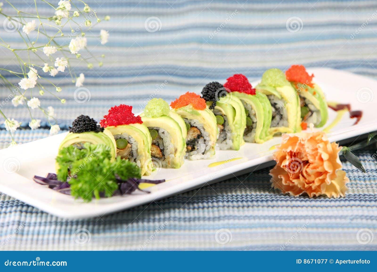 Sushi de special de roulis