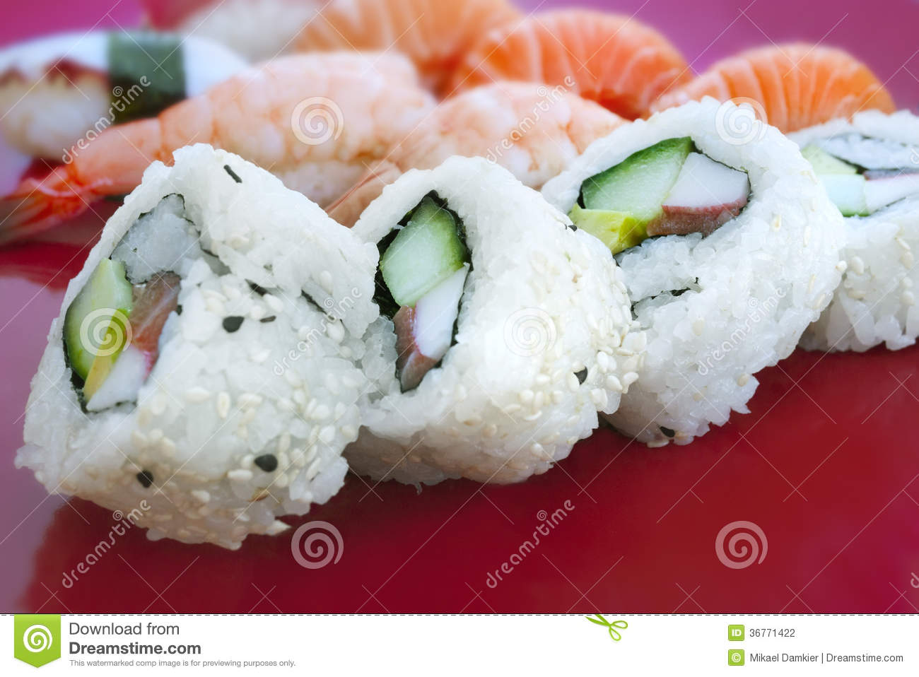 Sushi stock photography image 36771422 for Where to buy fish for sushi