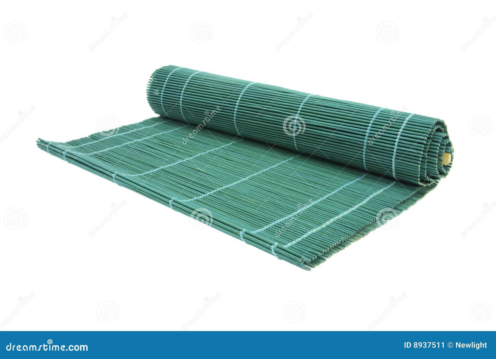 sushi en bambou de couvre tapis image stock image 8937511. Black Bedroom Furniture Sets. Home Design Ideas