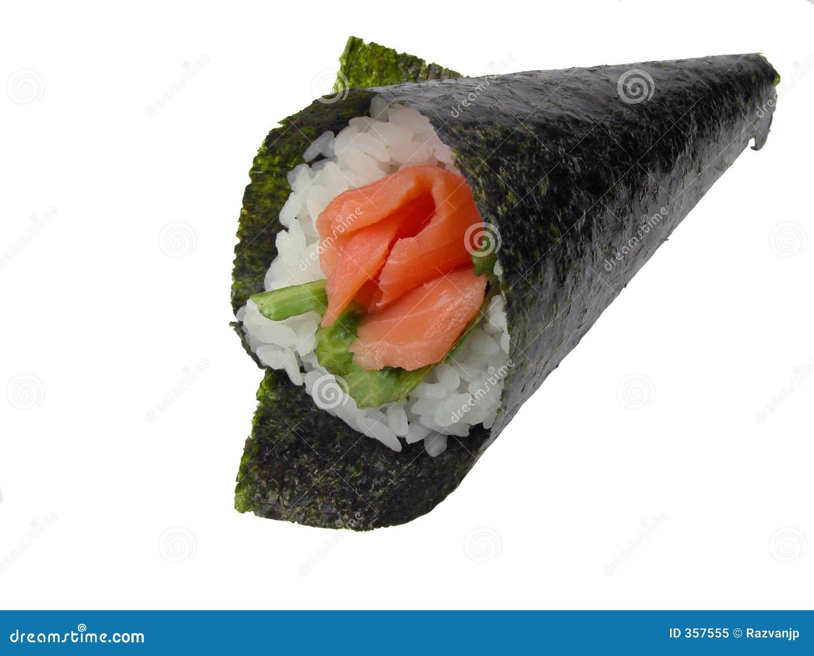 Sushi för handrulllax