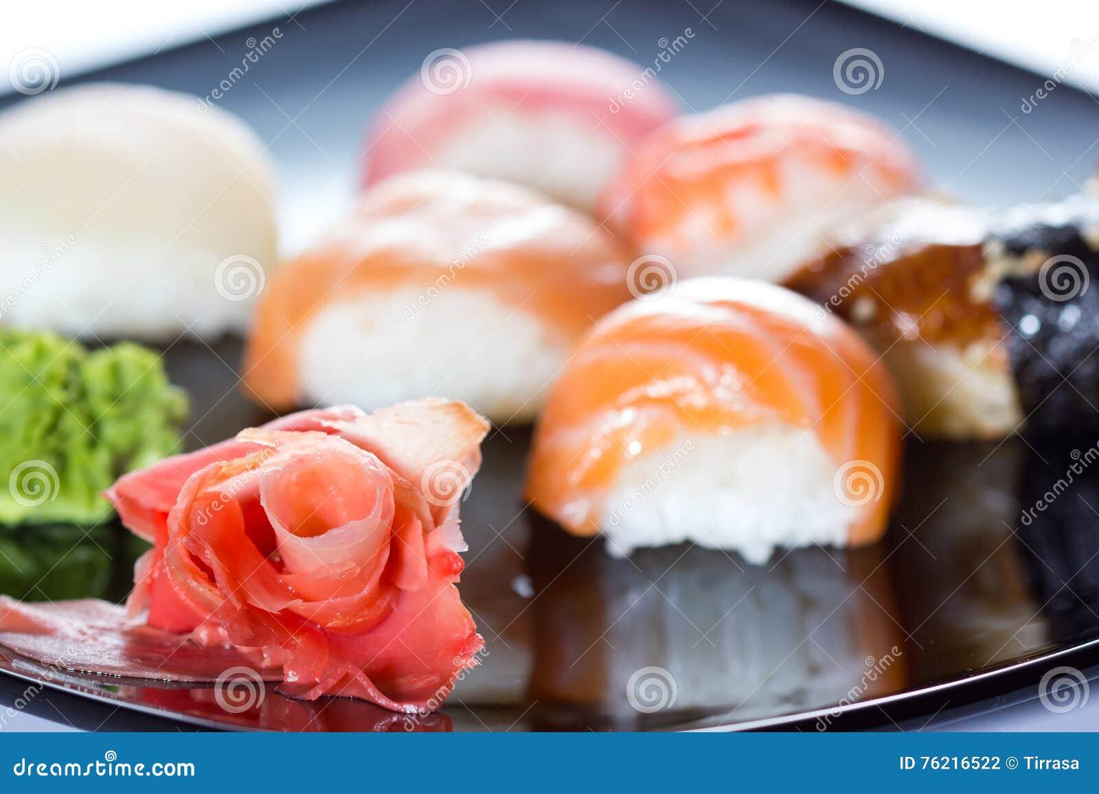 Sushi stock photo  Image of dish, nigiri, ebiten, lunch