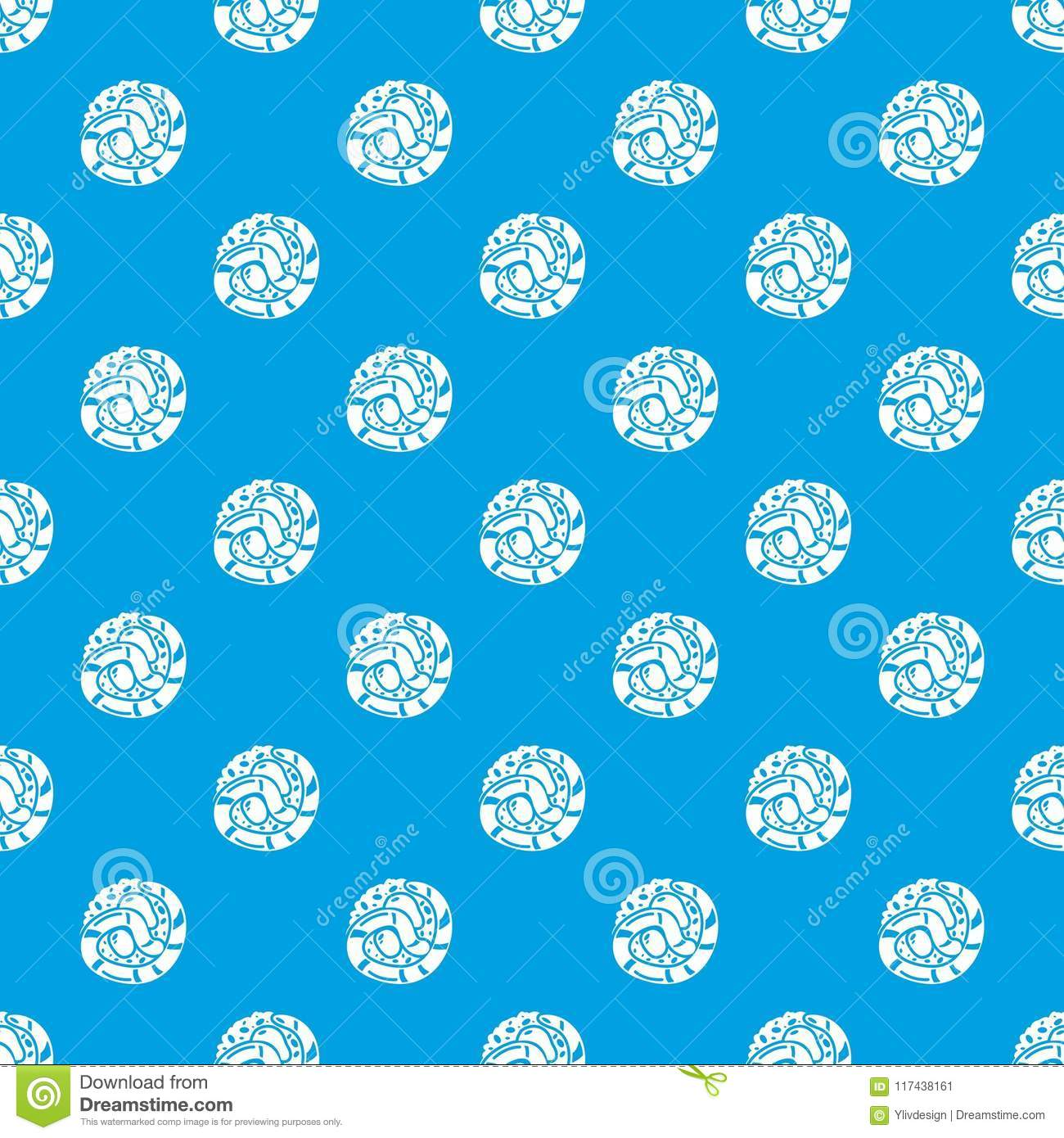 Sushi japan pattern vector seamless blue