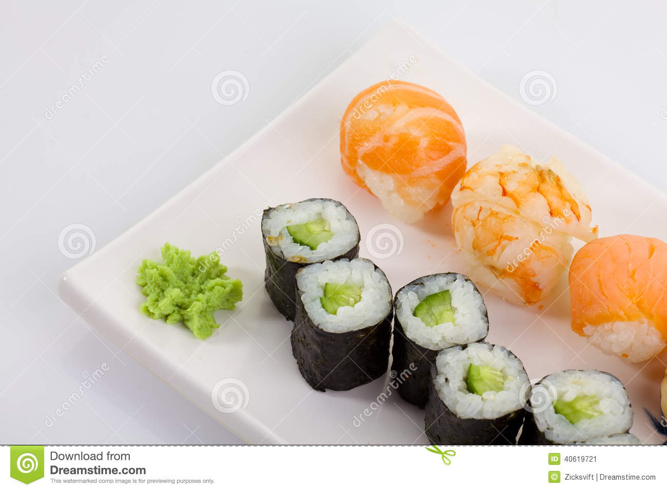 Sushi Stock Image Image Of Japan Appetizer Meal