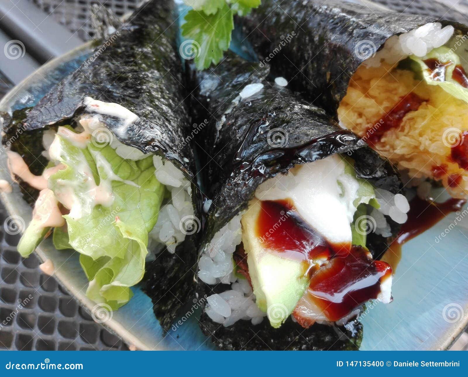 Sushi : l avocat eal a fait frire des poissons
