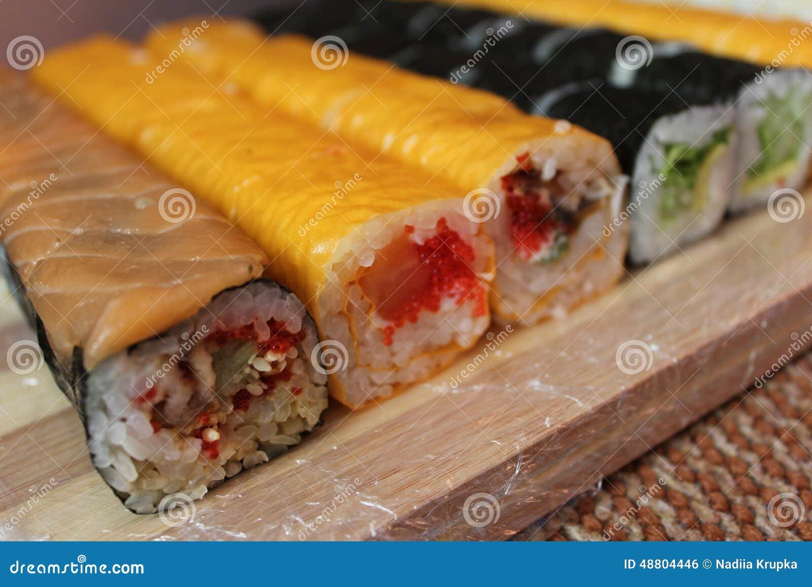 Sushi, mangianti