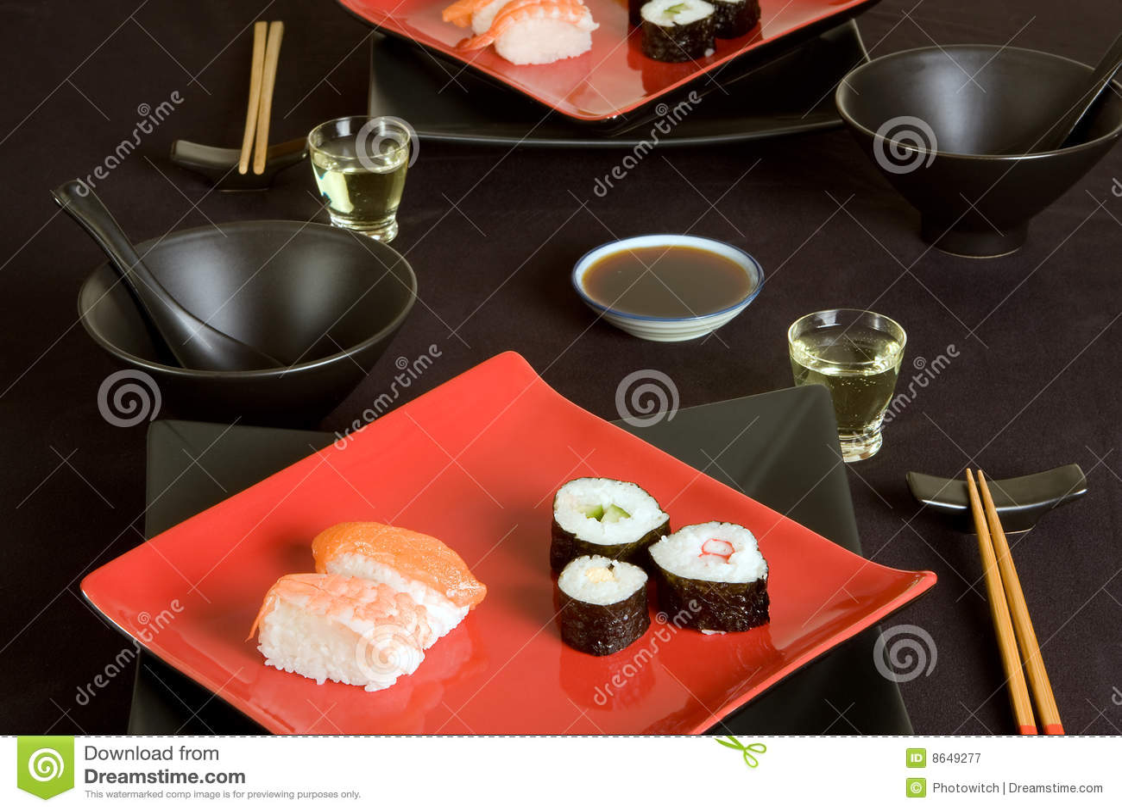 Sushi para dois