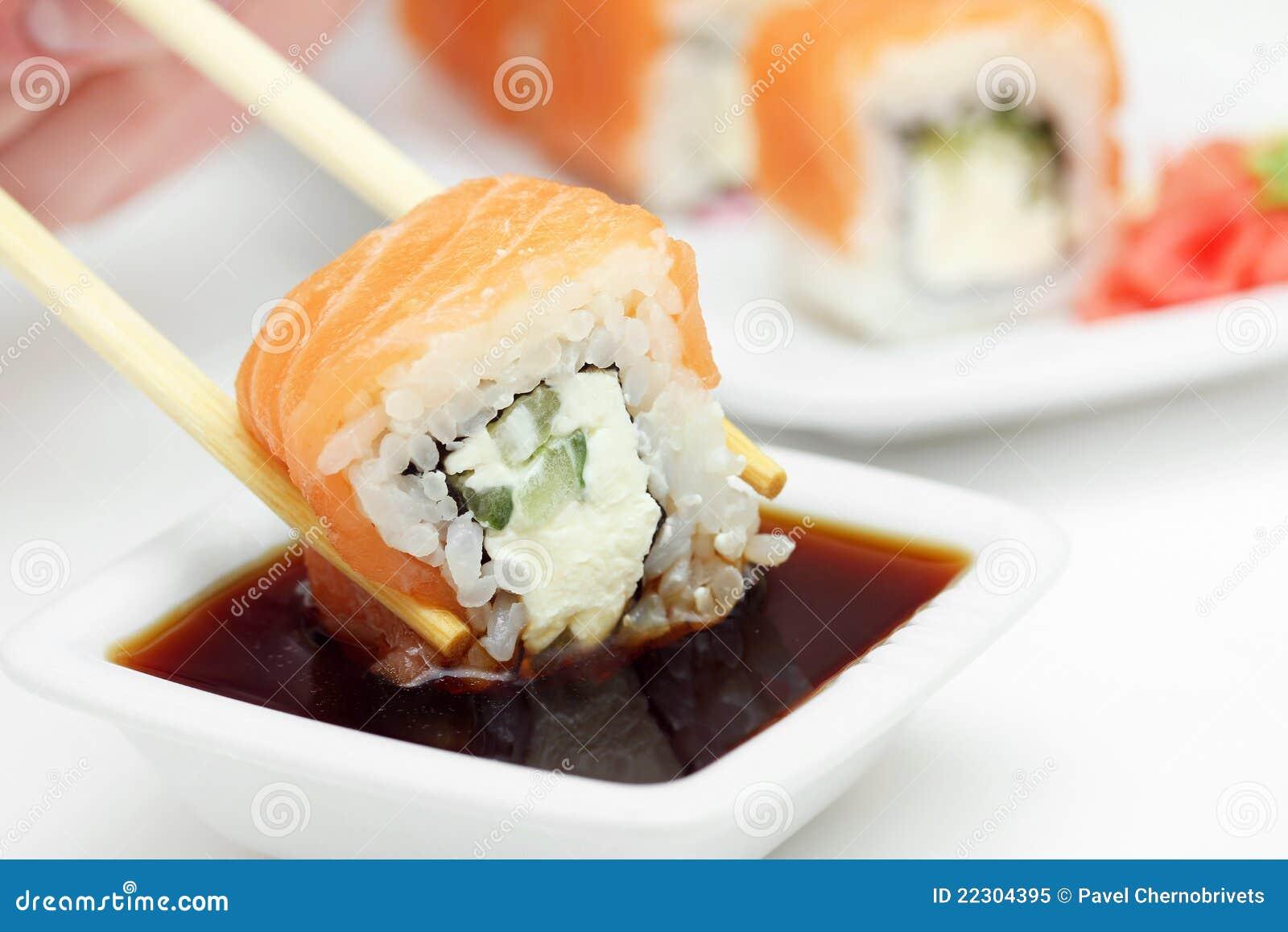 Соус для суши и роллы в домашних условиях