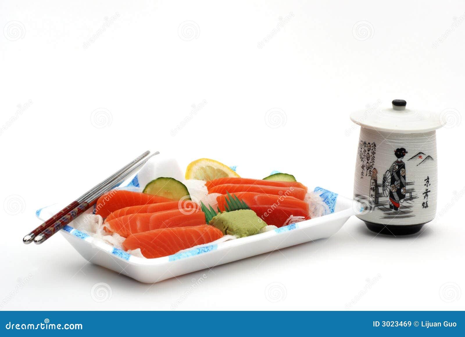 Sushi sashimi lunch box