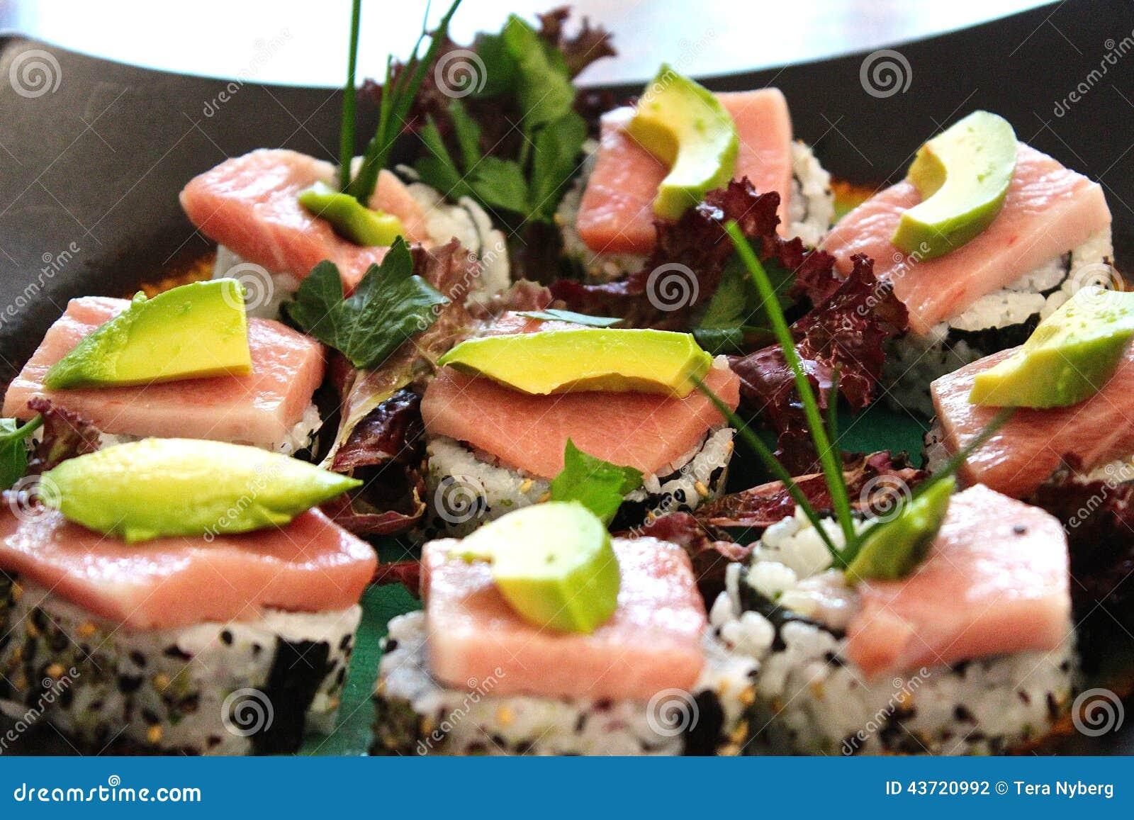 ... avocado sushi sashimi nigiri nori wrapper dinner japanese restaurant