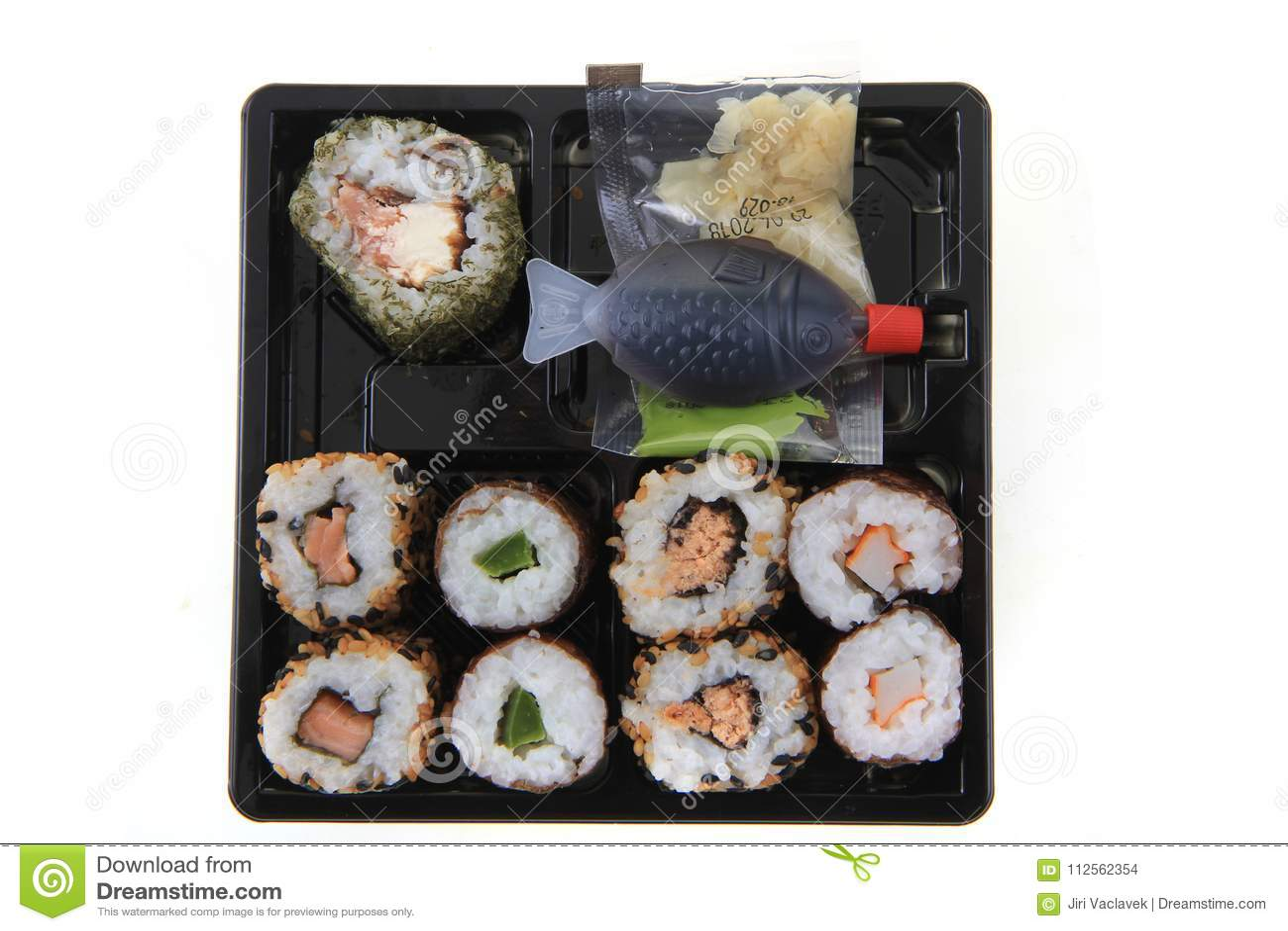 Sushi Traditional Japan Food Stock Photo Image Of
