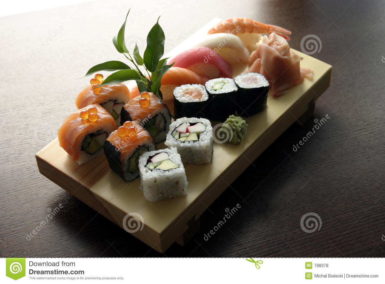 Sushi traditional japanese food royalty free stock photos for Authentic japanese cuisine
