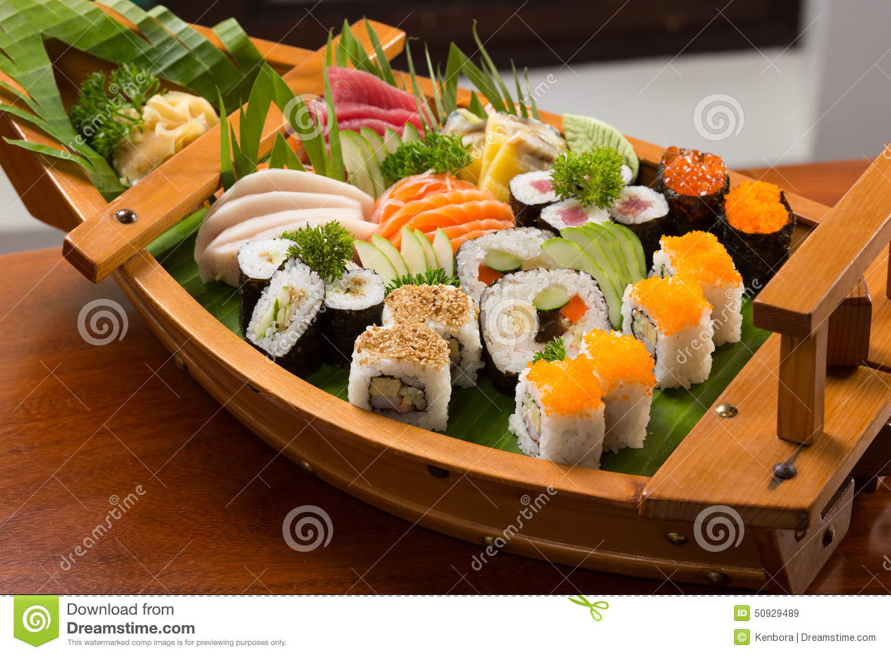 Sushi traditional japanese food stock photo image 50929489 for Authentic asian cuisine