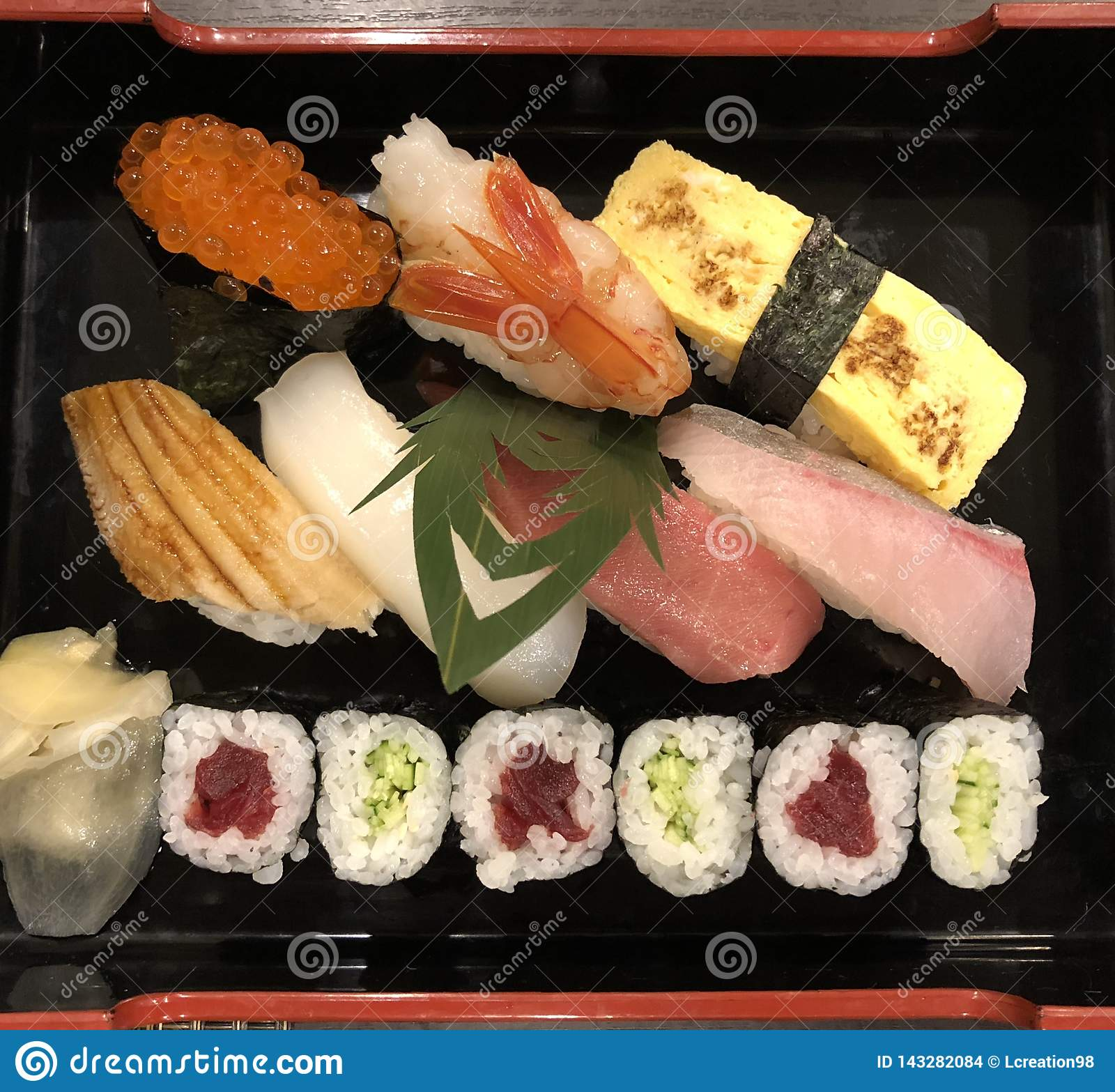 Sushi traditionnels