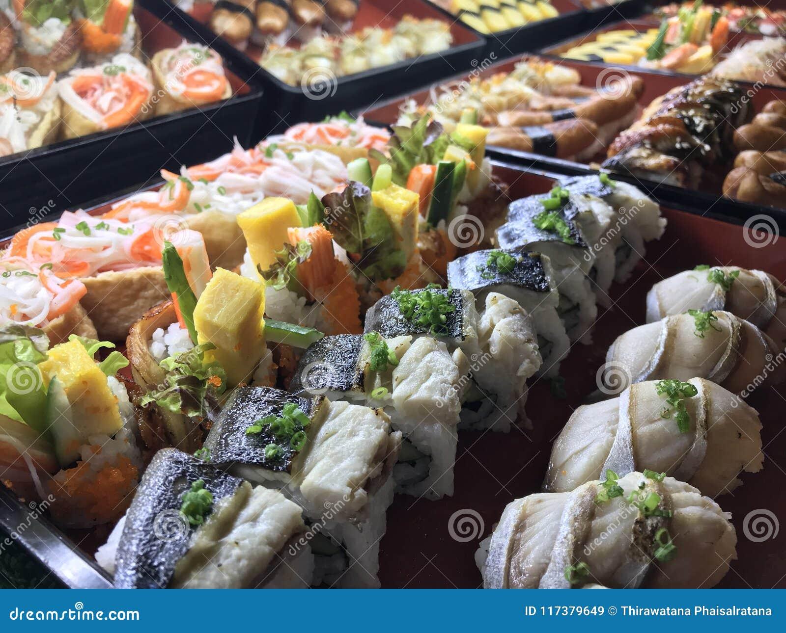 Sushibuffé i restaurangen Mat och drink