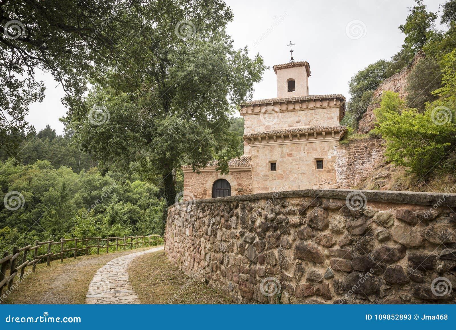 Suso Monastery in San Millan de la Cogolla, La Rioja, Spagna