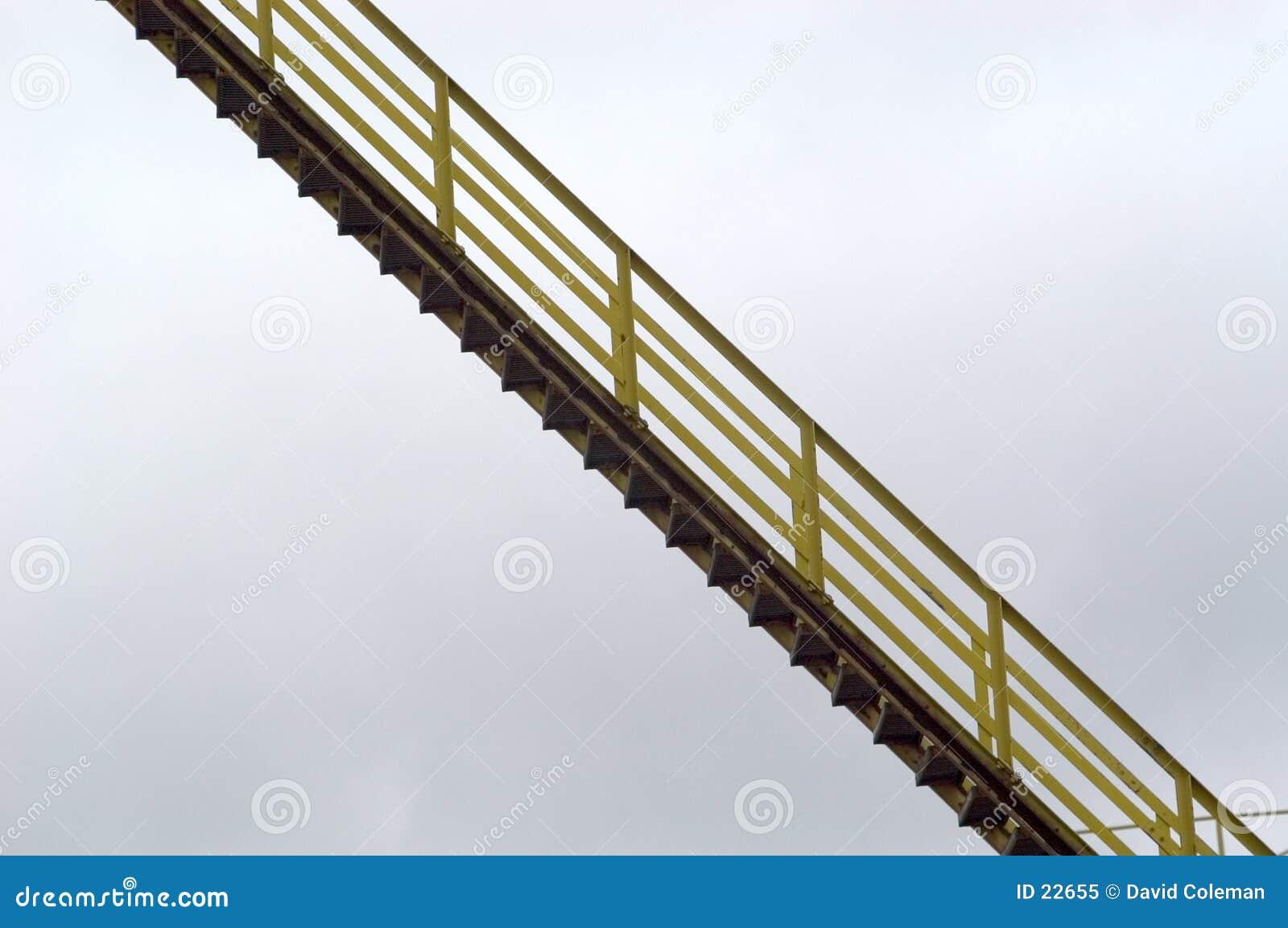 Suspended Stairway