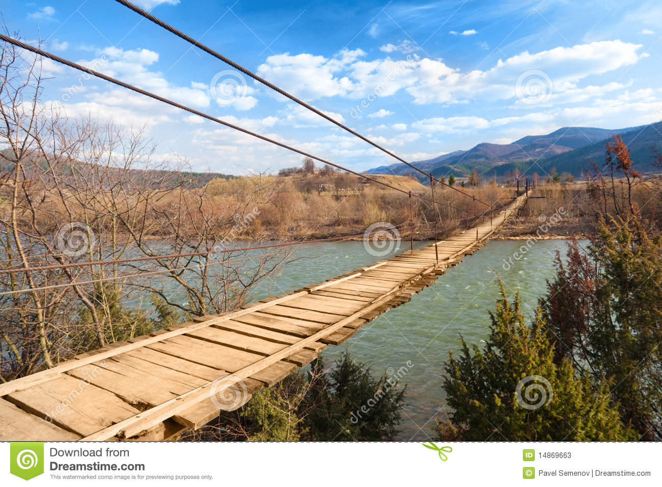 Russian tank t34 royalty free stock images image 23498479 - Suspended Wooden Bridge Stock Photos