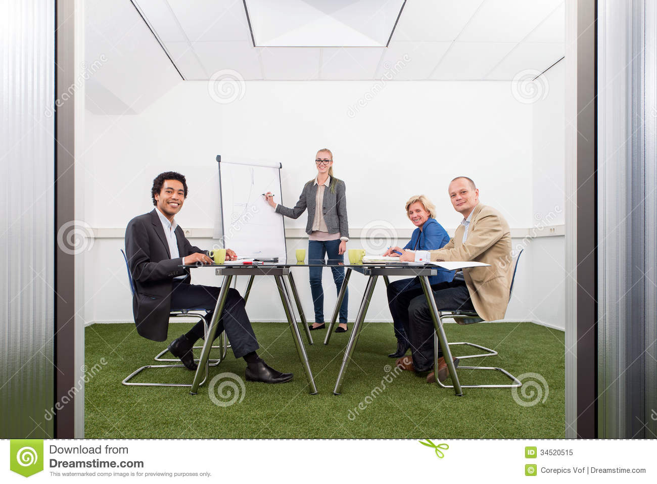 Sustainability Strategy Meeting Royalty Free Stock Photo