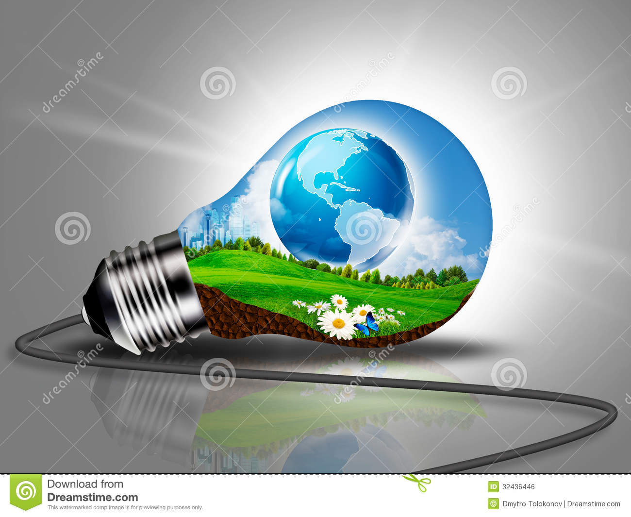 Sustainable Development Eco Energy Concept