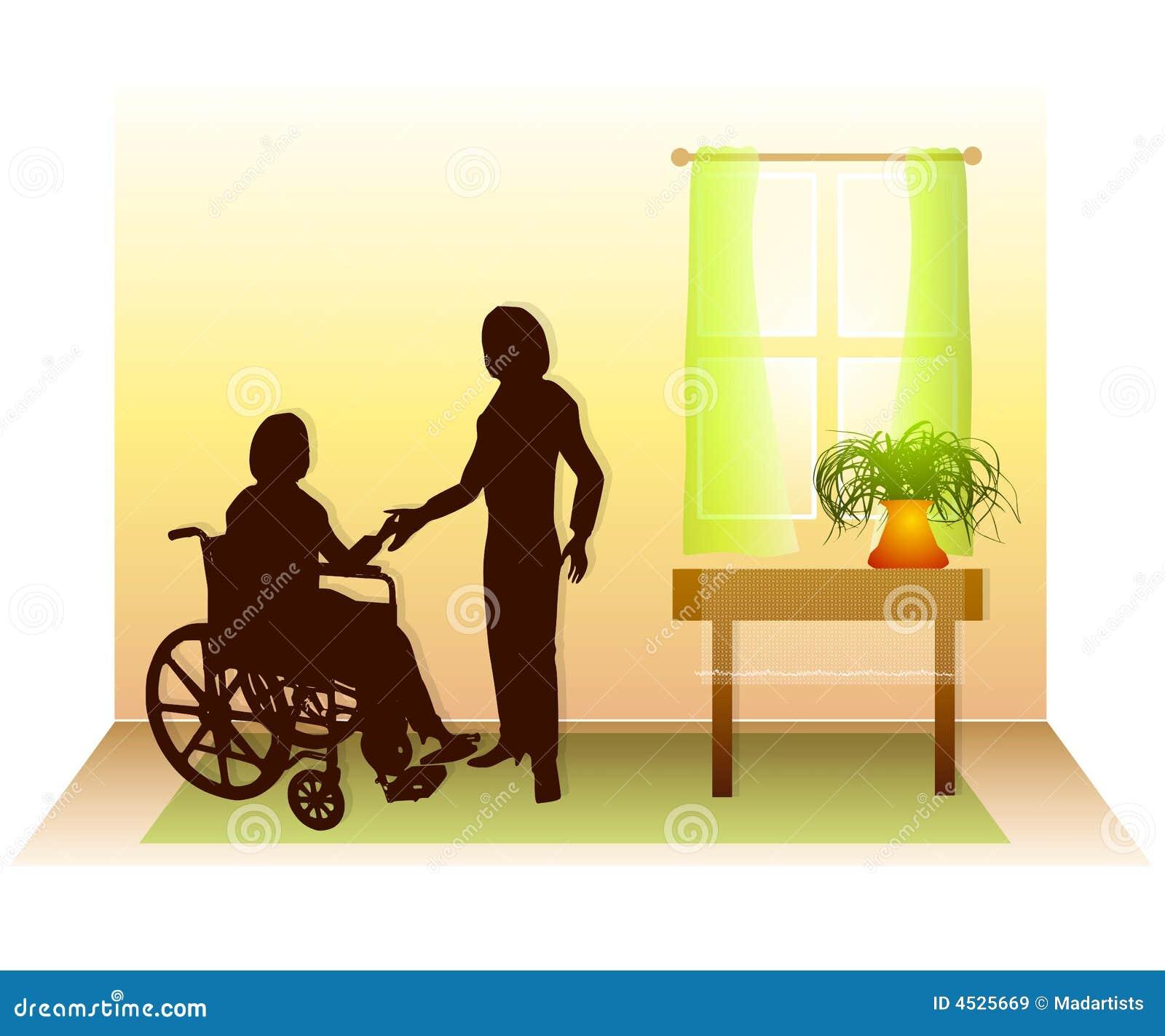 Sustentação 2 do cuidado dos cuidados médicos Home