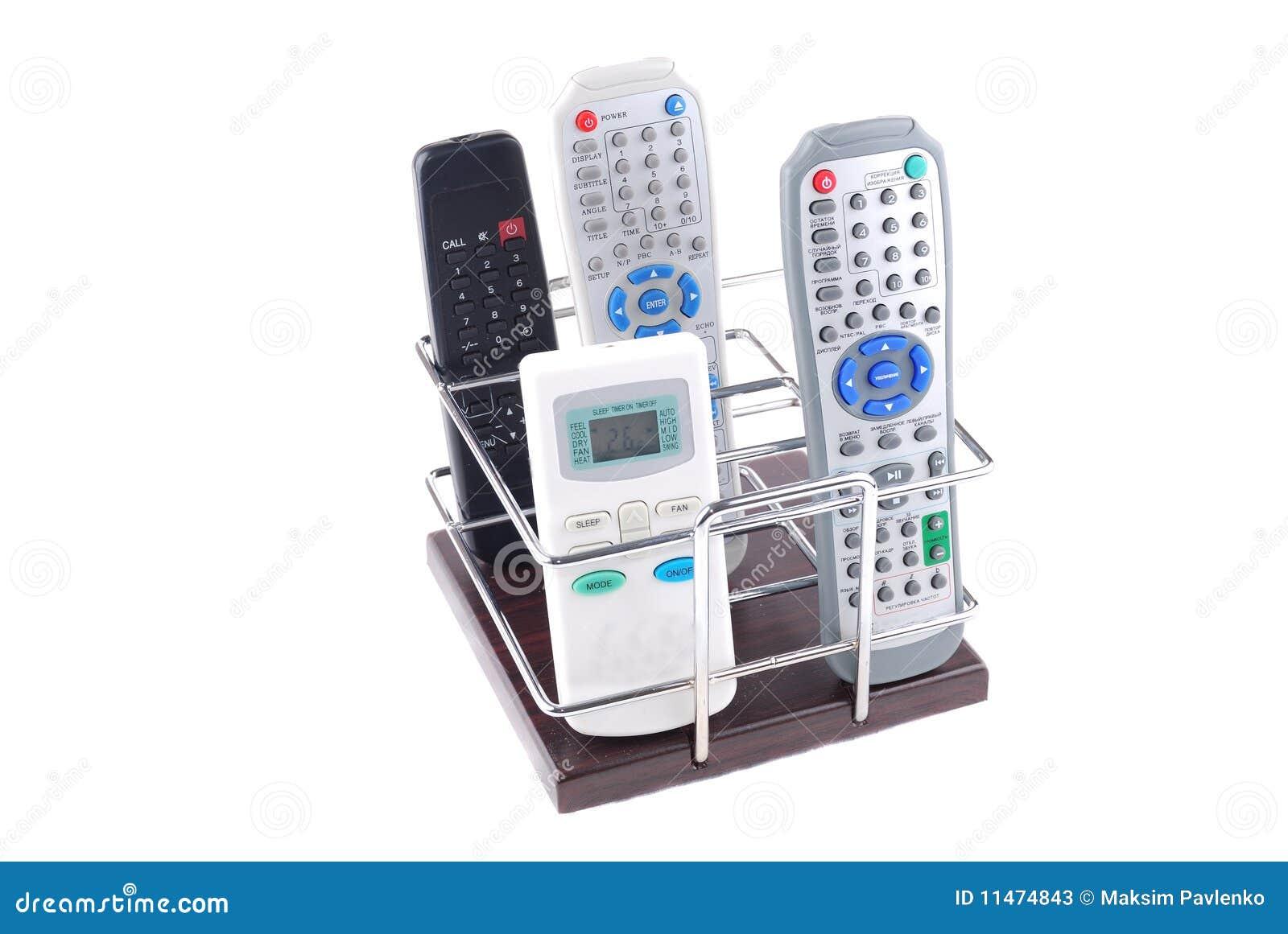 Sustentação sob telefones móveis e controlos a distância