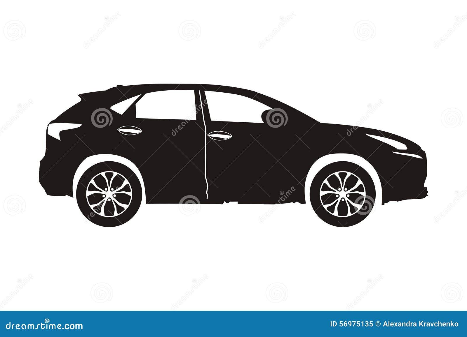 Suv del coche del icono
