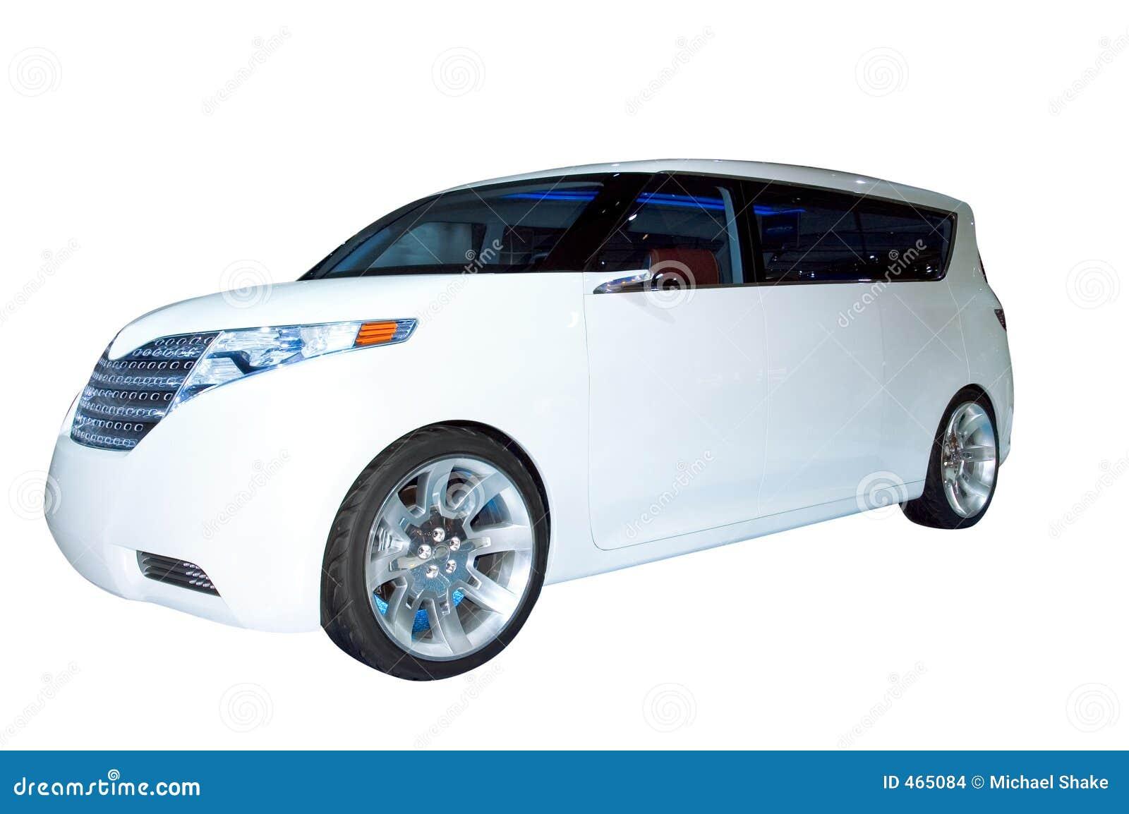 Suv hybrydowego Toyota pojęcia