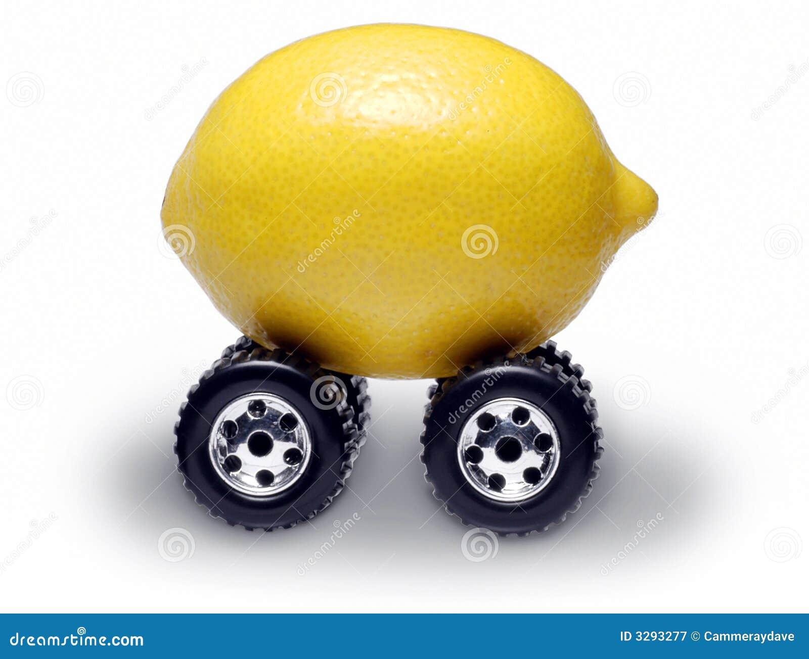 Suv Lemon Car Royalty Free Stock Photography Image 3293277