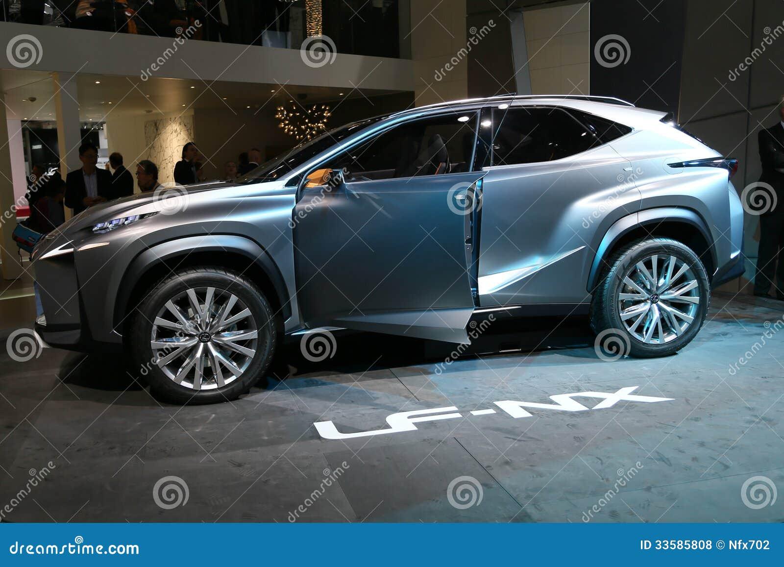 Lexus Lf Nx >> Suv Lexus Lf Nx Concept Editorial Stock Photo Image Of Nx 33585808