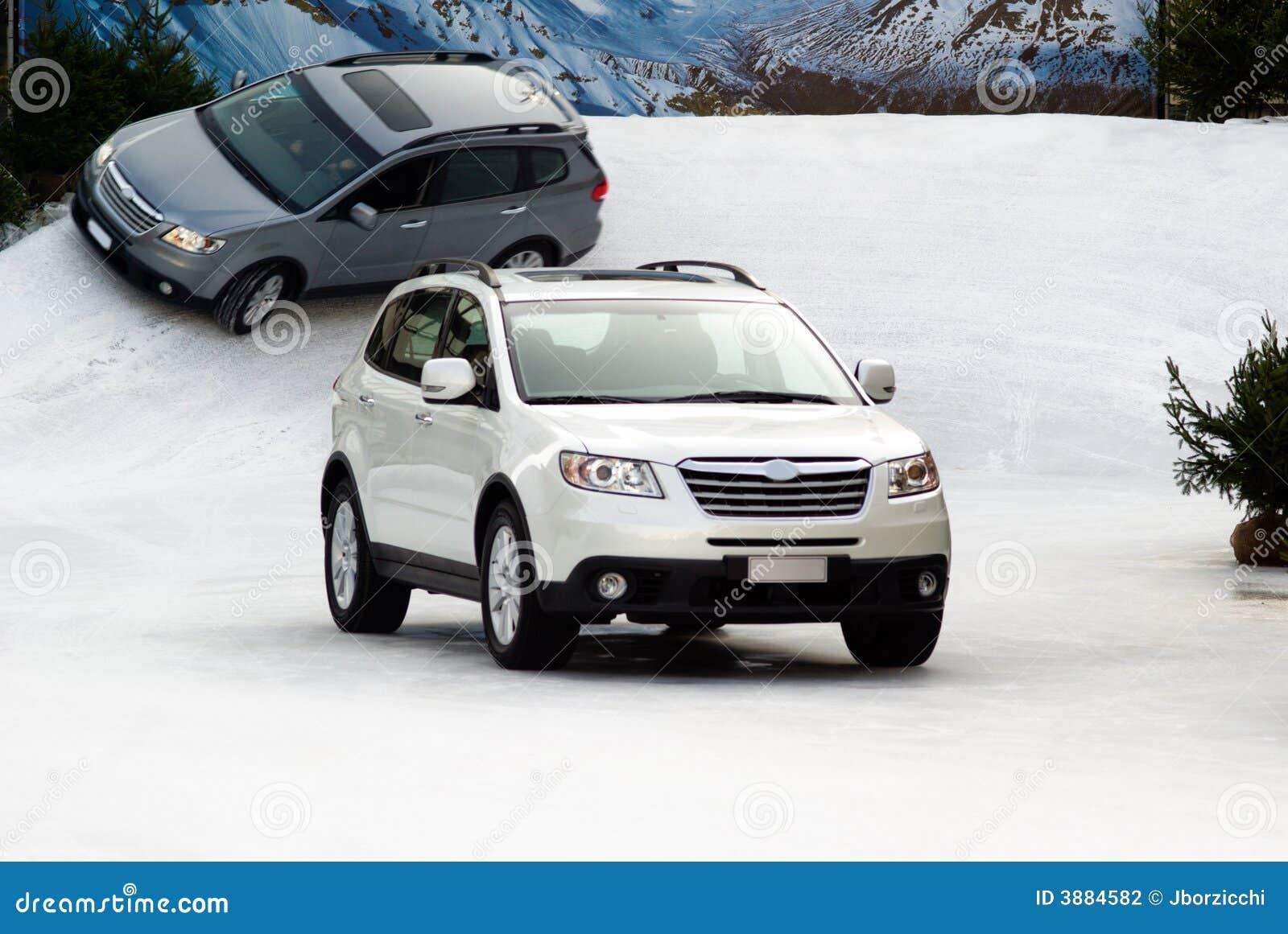Suv nella neve