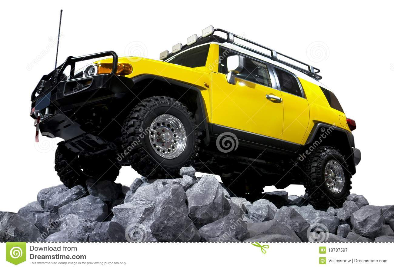 Suv Off Road Isolated Royalty Free Stock Photography Image