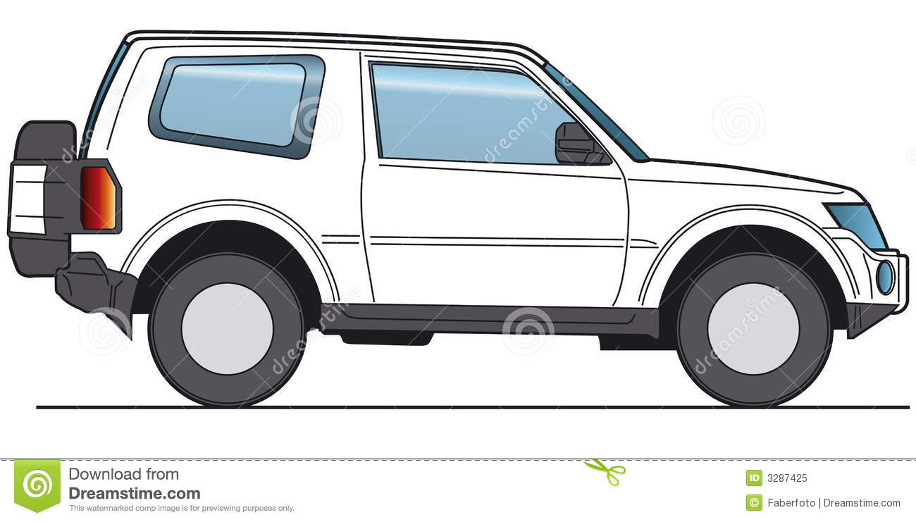 Suv Vector Royalty Free Stock Photo Image