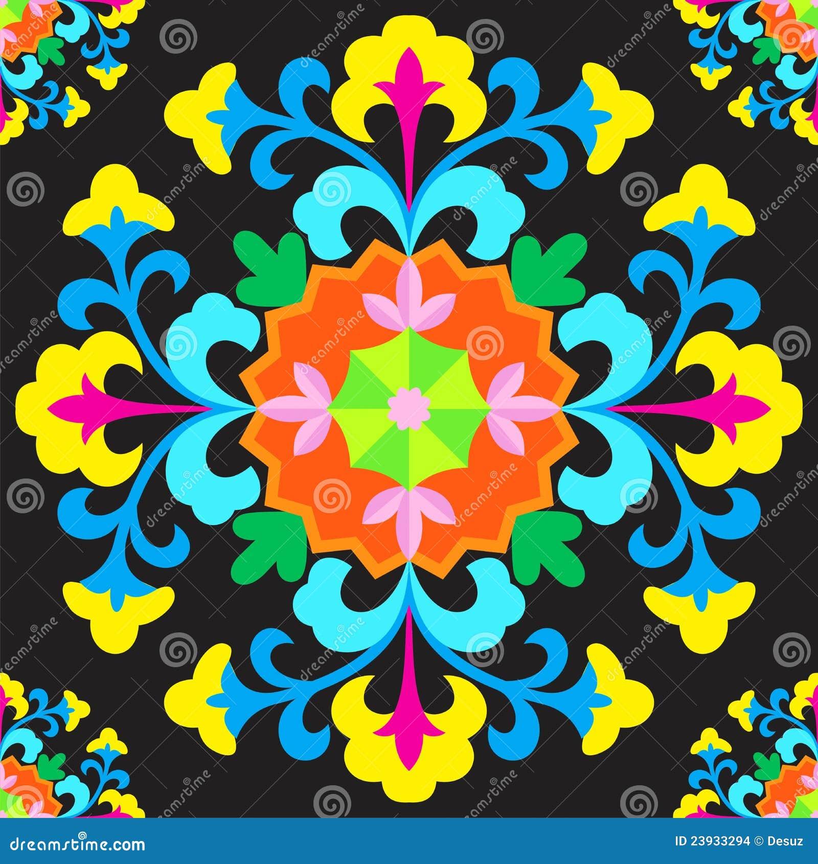 Suzani орнамента