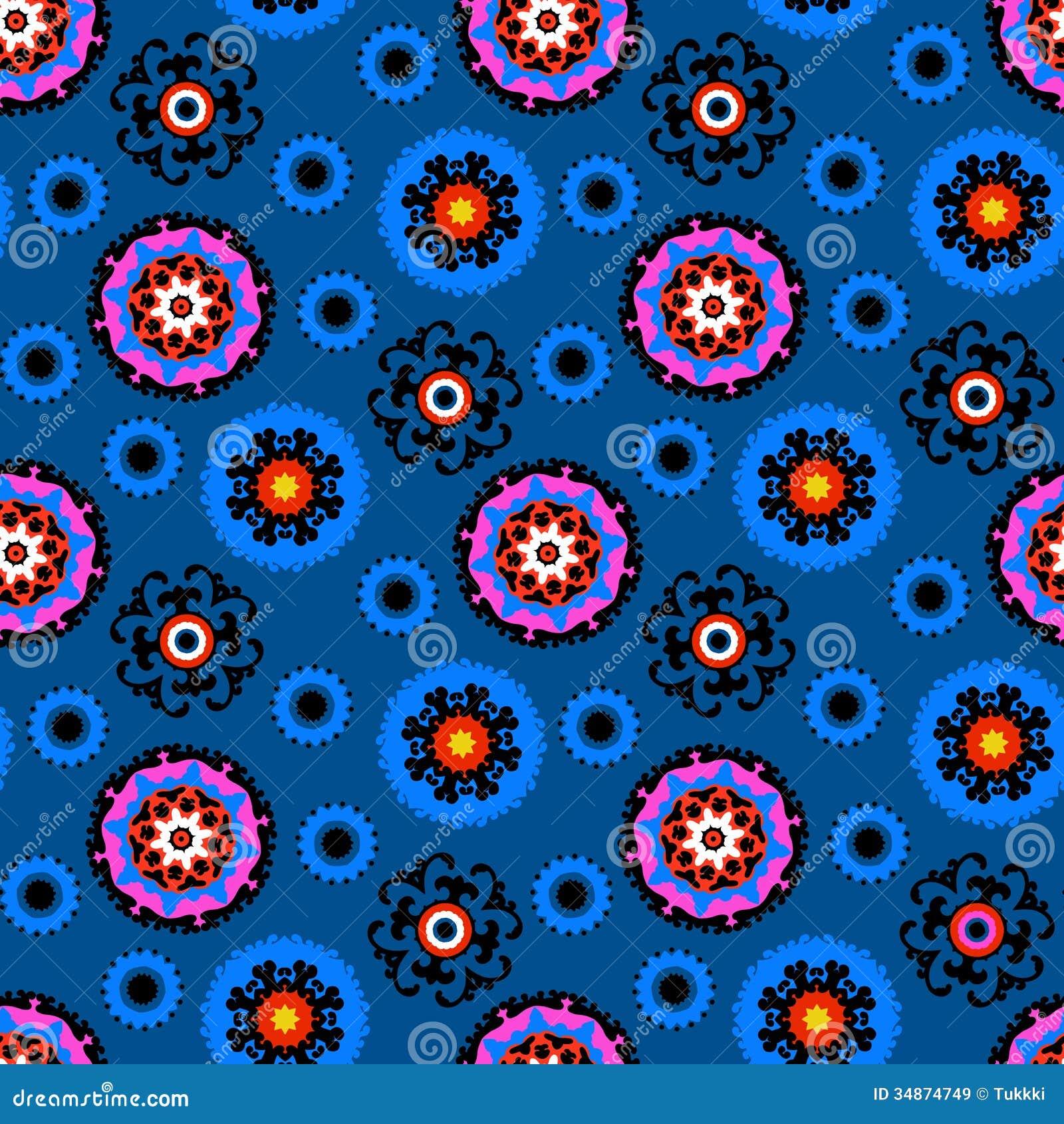 Suzani Pattern Royalty Free Stock Images Image 34874749
